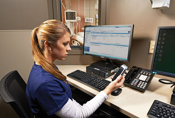 GE Healthcare's advanced network infrastructure and monitoring devices provide effortless connectivity to the data you need.
