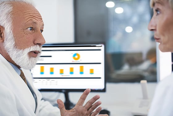 GE Healthcare Alarm Spotlight is a visualization dashboard to deliver comprehensive alarm analytics when you need them.