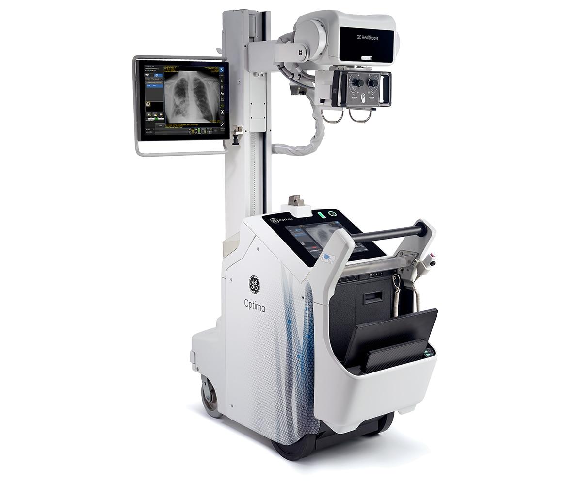 Optima XR240amx Portable Digital Xray System