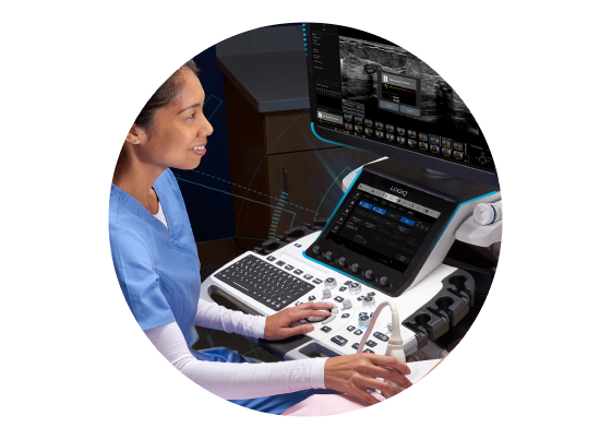 Koios Medical partnered with GE Healthcare to incorporate their solution with LOGIQ E10.