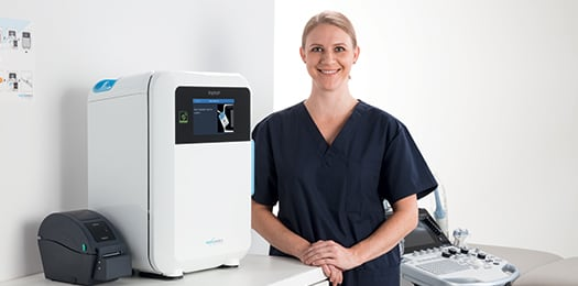 Medical professional training with the Trophon 2 system