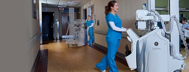 Critical Care Suite on mobile and fixed x-ray systems