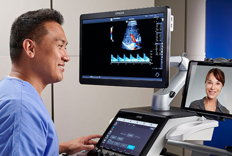 You can schedule training to master your GE Healthcare LOGIQ™ ultrasound systems