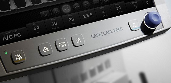 -categories-respiratory-and-sleep-carescape r860 hotspot tour images-front-r860_keypad.jpg