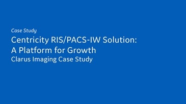 Case Study - RIS/PACS Propels the Community Hospital