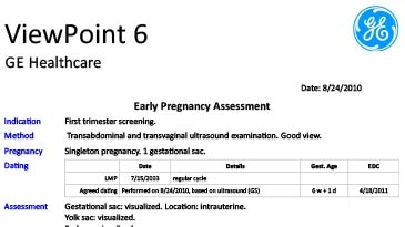 ViewPoint 6 for OB/GYN | GE Healthcare