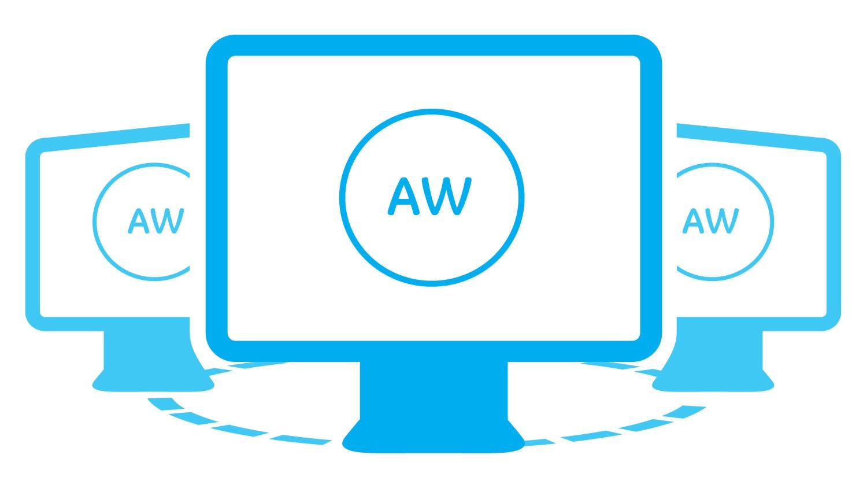 advanced visualization aw server.