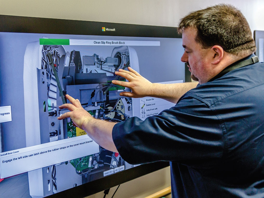 This technology creates an immersive training environment of lifelike  realism. By virtue of advanced computer simulation, students feel as though  they are ...
