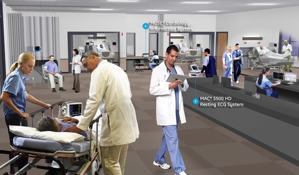 GE Healthcare Specialties Emergency Care Diagnostic Cardiology