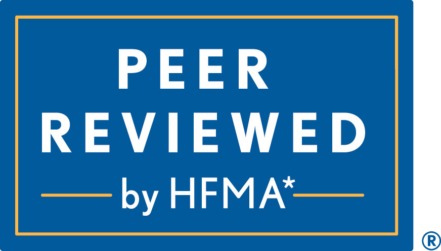 Peer Reviewed by HFMA