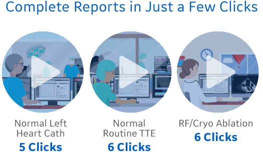 Complete Reports in Just a Few Clicks
