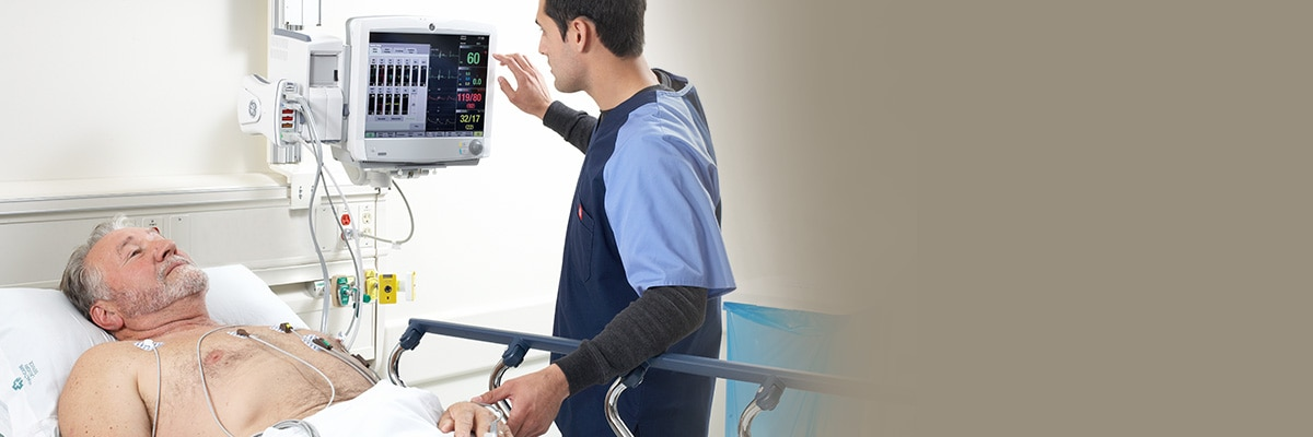 GE Healthcare Clinical View cardiac algoruthms and parameter strength ensure accurate and repeatable monitoring.