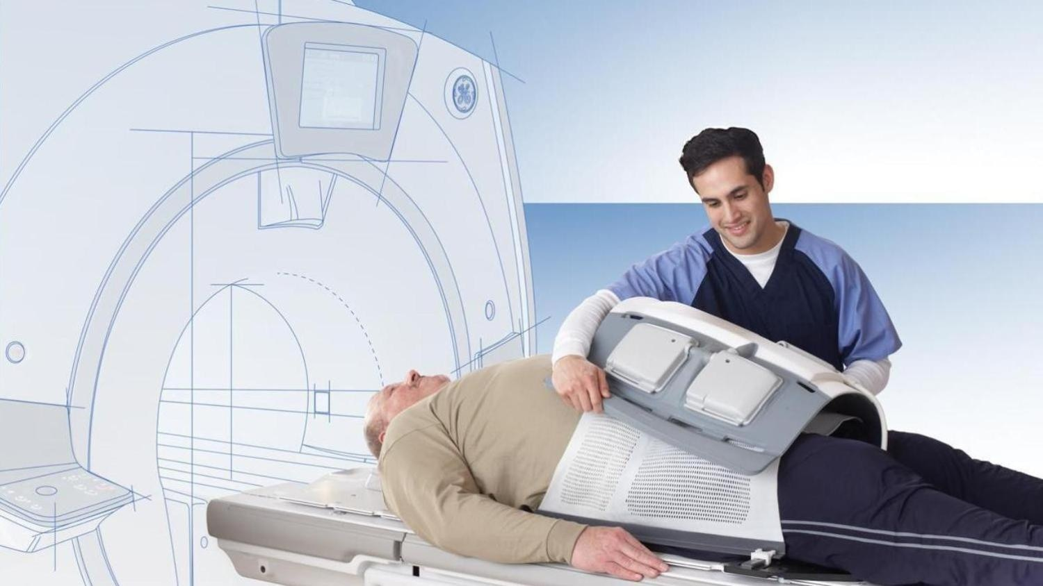 MR radiation oncology suite with patient