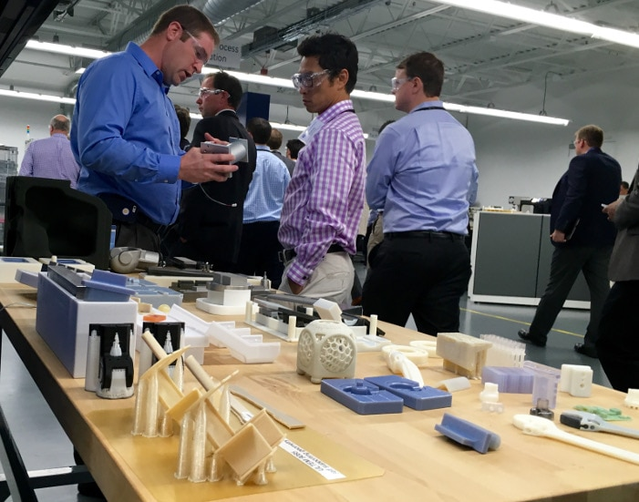 "Additive Manufacturing, commonly referred to as ""3-D printing,"" is enabling GE Healthcare to advance its product designs well beyond the capabilities of traditional manufacturing techniques.  Here, Steve Abitz, GE Healthcare Additive Process Leader and Rodney Hathawy, CFA, 1492 Capital Management, LLC, take a close-up look."