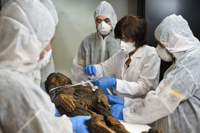 A Night Out of the Museum: Mummies In The CT Scanner