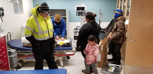 Bringing imaging technology to residents on a remote Alaskan